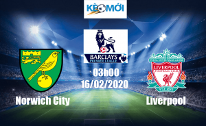 Soi kèo Norwich City vs Liverpool